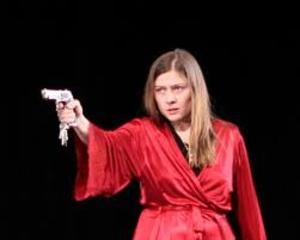 Голубкина шокировала Ливанова в свой день рождения