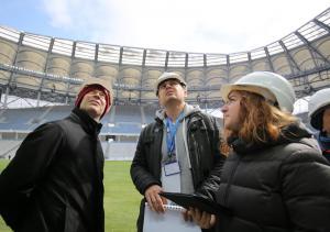 Стадион «Волгоград-Арена» введен в эксплуатацию