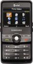 Samsung SGH-A827 Access