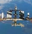 Камеры МКС сняли на видео огромный инопланетный корабль, следящий за станцией