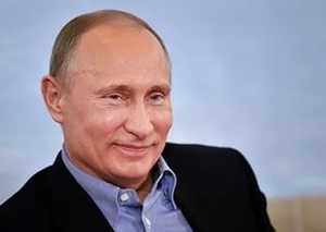 Путин не сумел прочитать записи в своем блокноте: