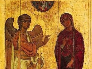 Сегодня Благовещение - светлый праздник православных  христиан