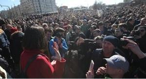 Полиция насчитала 7-8 тысячах участников акции против коррупции в Москве