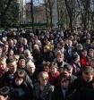Сотни жителей Новосибирска вышли на акцию протеста против задержания активистов