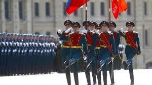 В Москве начались репетиции парада и связанные с ними ограничения движения транспорта
