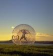 Выяснилось, кто прокатился на гигантском шаре-зорбе по дороге в Перми