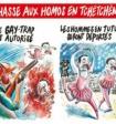 Скандально известный журнал опубликовал карикатуру на российского политика