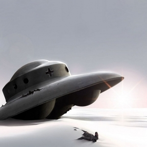 Уралец увидел в снегах Антарктиды гигантский корабль пришельцев