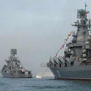 В Средиземном море состоялся тренировочный бой кораблей Черноморского флота