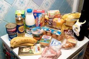 В России резко подорожал минимальный набор продуктов питания