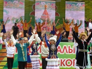 Москва отпраздновала Сабантуй-2017