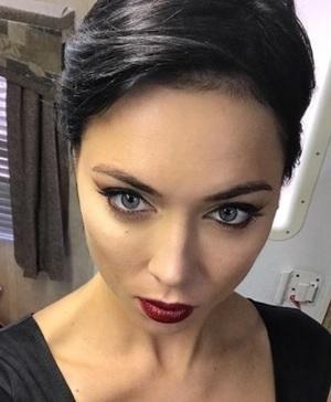 Настасья Самбурская показалась с изуродованным лицом