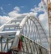 Арку Крымского моста показали с орбиты