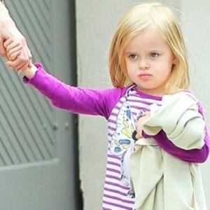 Младшая дочь Джоли и Питта тоже стала
