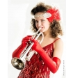 Валерия Охотницкая: труба, вокал, чечетка, кино и белый воротничок