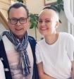 Переживший рак Владимир Левкин рассказал о самочувствии дочери после операции на мозге