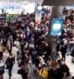 В московских аэропортах из-за непогоды застряли тысячи пассажиров
