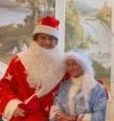 Волочкова и Прохором Шаляпиным записали поздравление в образах Деда Мороза и Снегурочки