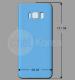 Известны дизайн и размеры Samsung Galaxy S8 и S8 Plus