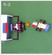 Болельщики из России и Мексики провели футбольный матч роботов