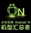 Какие смартфоны Xiaomi обновятся до Android Nougat?