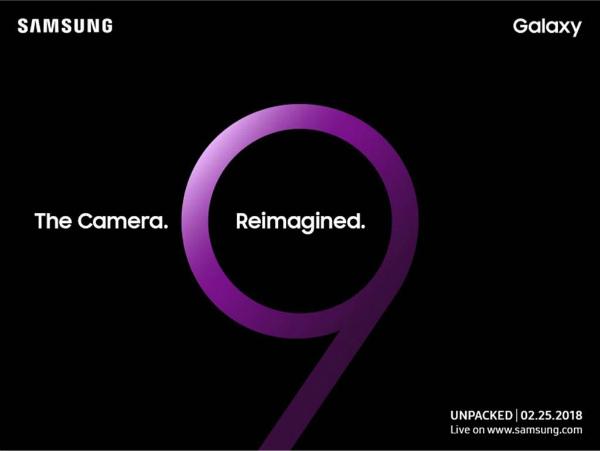 Официальная презентация Samsung Galaxy S9 и Galaxy S9+ состоится 25 февраля