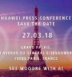 Huawei проведет пресс-конференцию 27 марта