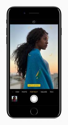Портретная съемка на iPhone 7 Plus стала доступна с обновлением iOS 10.1