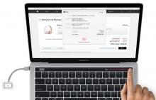 Новый MacBook Pro засветился на рендерах