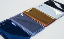 HTC готовит безрамочный смартфон U11 Plus