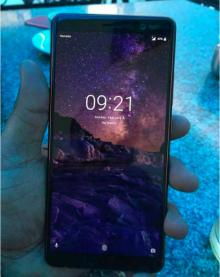 Живые фотографии Nokia 7 Plus