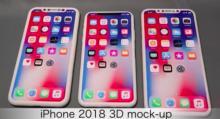 Все три iPhone 2018 появились на видео