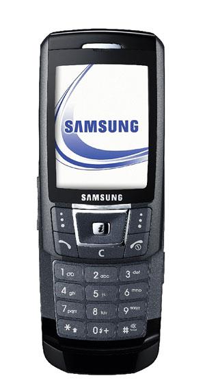 Мобильный телефон Samsung SGH-D900 чёрный.
