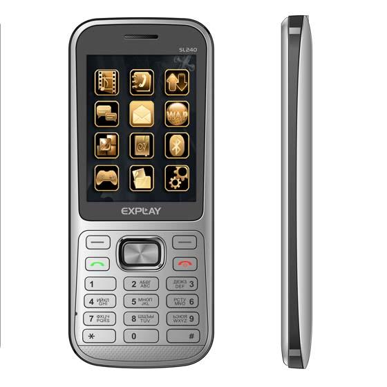 Sl 240 – имиджевый ультратонкий телефон