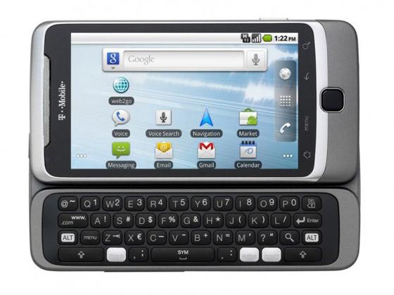 T-Mobile G2: официальный телефон Google - Сотовик