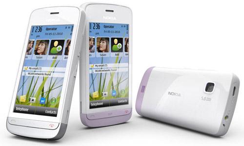 Nokia C5-03: бюджетный 3G-смартфон с поддержкой WiFi - Сотовик
