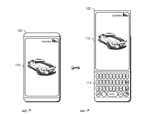 Microsoft Patent Slider Design Phones together with  on asus eee pad slider