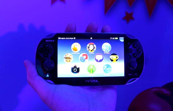 11 PlayStation Vita at the start