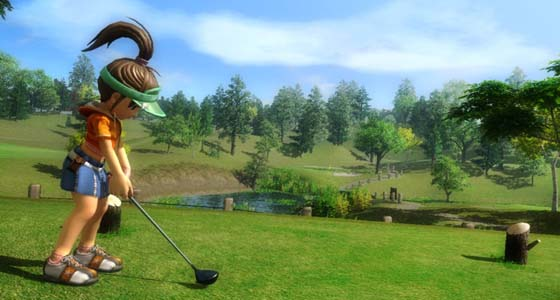 evgolf 2 PlayStation Vita at the start