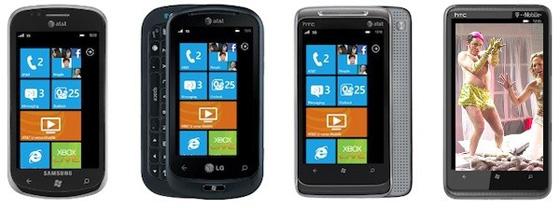 Windows Phone 7: график обновления