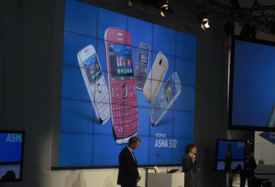 101 [MWC 2012] Nokia has proposed a new Asha phones