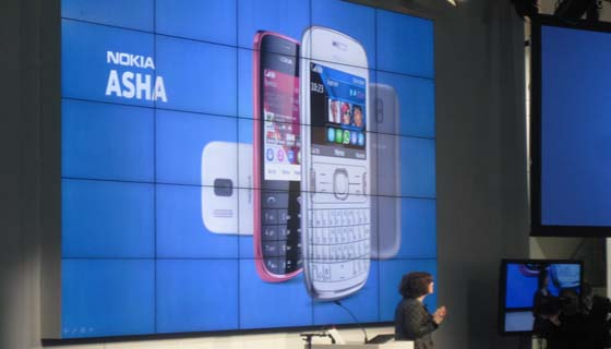 102 [MWC 2012] Nokia has proposed a new Asha phones
