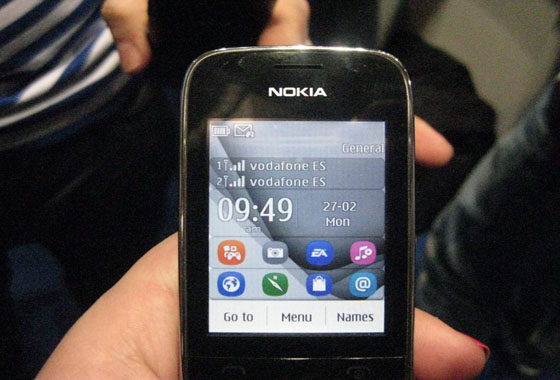 l10 [MWC 2012] Nokia has proposed a new Asha phones