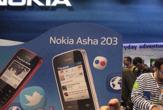 l12 [MWC 2012] Nokia has proposed a new Asha phones