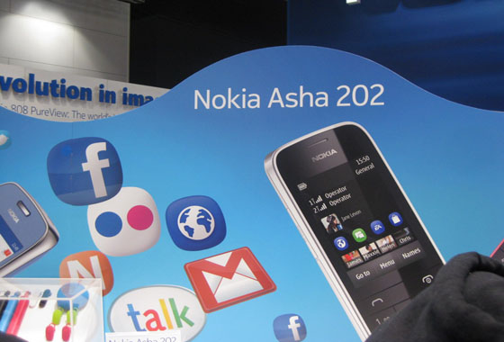 l9 [MWC 2012] Nokia has proposed a new Asha phones