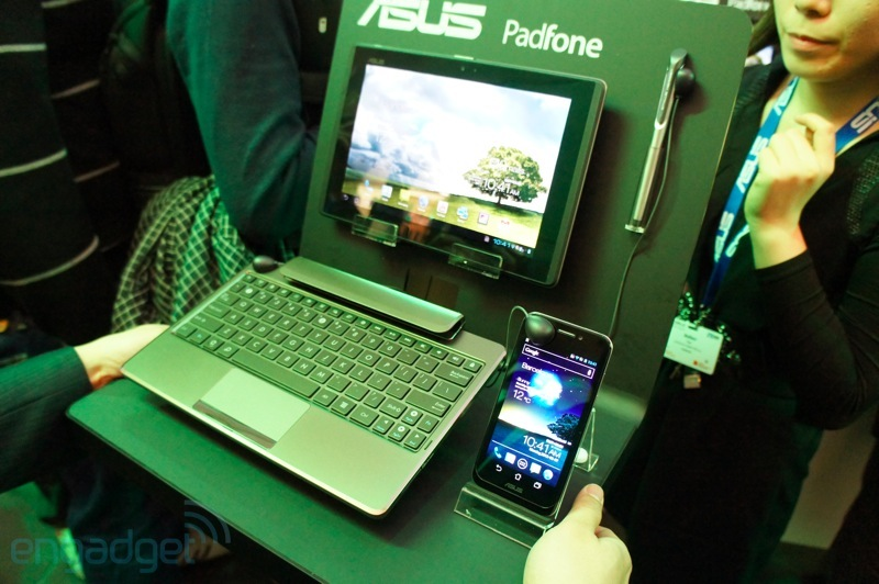  [MWC 2012] ASUS Padfone