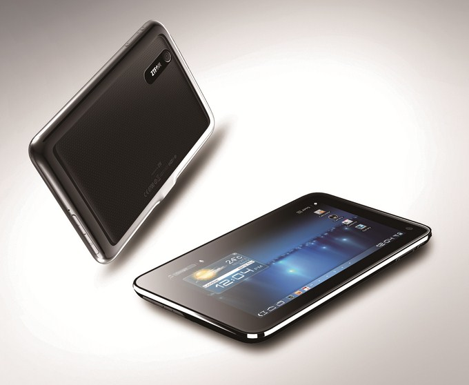  [MWC 2012] ZTE announced four Android tablet 