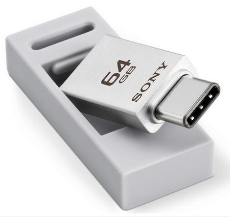 Сони выпустила новейшую серию накопителей состандартом USB Type-C