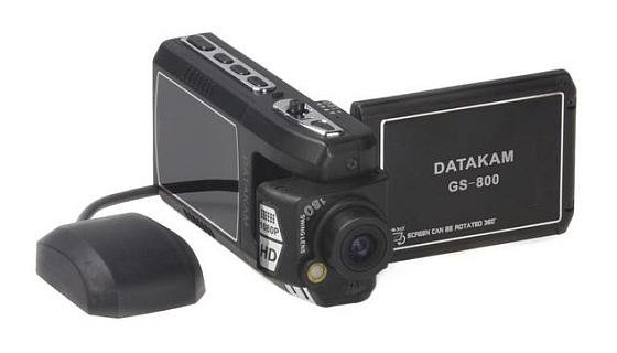 Видеорегистратор с поворотной камерой и экраном