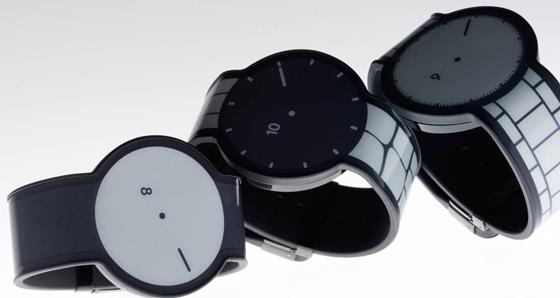 Сони выпустила наручные часы из«электронной бумаги»
